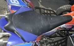 This seat is from Quadtech but the design and shape is all Yamaha - Photo Gallery - ATV Trail Rider