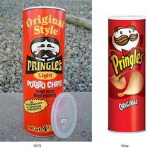 Así evolucionaron los empaques de estas 10 famosas marcas.