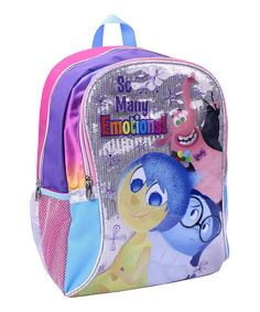 Look at this Inside Out 'So Many Emotions' Backpack on #zulily today!