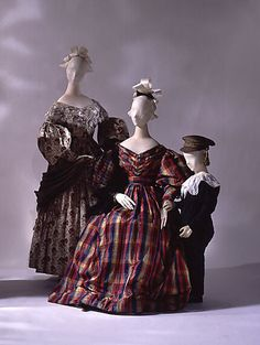 Dress  Date: ca. 1837 Culture: British Medium: silk