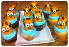Minion cupcakes despicable me
