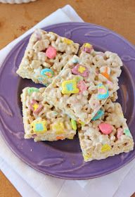 St. Patrick's Day Treat: Lucky Charms Rice Krispies