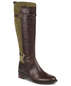 I have these Etienne Aigner boots and I love them! I wear them a lot~Miranda