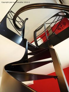 escalier colima on l art du design h lico dal design art et art nouveau. Black Bedroom Furniture Sets. Home Design Ideas