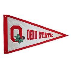 Giant Ohio State University Buckeyes Pennant Flag