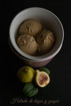 helado de higos y yogur