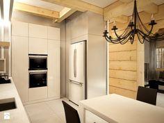 Dom z bali urządzony nowocześnie Sweet Home, Home Appliances, Cabin, House, House Appliances, House Beautiful, Appliances, Haus, Cottage