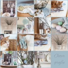 Herzenswärme Happy Easter, Table Decorations, Furniture, Home Decor, In Love, Easter Activities, Happy Easter Day, Decoration Home, Room Decor