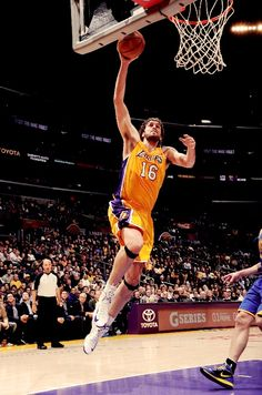 Los Angeles Lakers - 11/9/12 - vs. Golden State Warriors - Pau Gasol - 11/9/12 - 14 pts, 16 rebs, 2 asts, 2 blks.