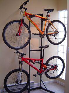 Thinking of Buying a Motorcycle Gary Fisher, Bike Storage, Bike Rack, Mtb, Mountain Biking, Motorcycle Dealers, Retro, Illustration, Bags