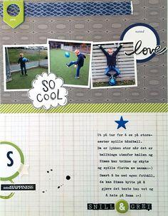 Lettersize layout, Studio Calico Studio Calico, Layouts, Baseball Cards, Cool Stuff, Handball