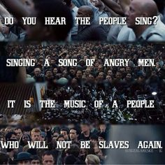 Didn't know i was waiting for this my whole life...a hunger games/les Miserables crossover
