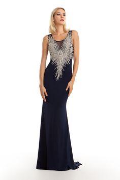 Eleni Elias Collection Official Web Site - Evening Collection - Style E714