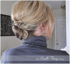 knot updo