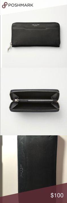 Rag and bone continental wallet Gently used wallet  https://www.rag-bone.com/womens/accessories/crosby-continental-wallet-W252132AY.html rag & bone Bags Wallets