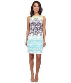 => London Times Sleeveless Sheath Dress by mosara