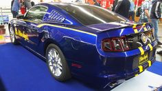Ford Mustang Blue Angels at Essen Motorshow - Exterior Walkaround