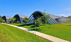 The Zentrum Paul Klee is a museum dedicated to the artist Paul Klee, located in Bern, Switzerland and designed by the Italian architect Renzo Piano. It features about 40 percent of Paul Klee's entire pictorial oeuvre.| Flickr - Photo Sharing!