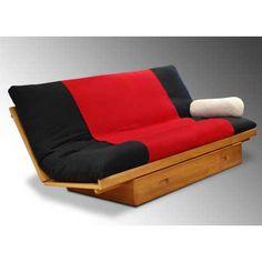 wood sofa