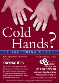 February is Raynaud's awareness month this may be why I lose circulation in my fingers so easily Raynaud's Disease, Rare Disease, Autoimmune Disease, Chronic Illness, Chronic Pain, Fibromyalgia, February Awareness Month, Raynaud's Phenomenon, Antiphospholipid Syndrome