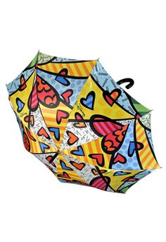 A NEW DAY umbrella $35 - something bright for those bleary days and it's Britto of course : )