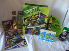 Teenage Mutant Ninja Turtles Gift Basket,Complete,Birthday,Holiday,Ill,Get WELL1 #TMNT#AnyOccasion