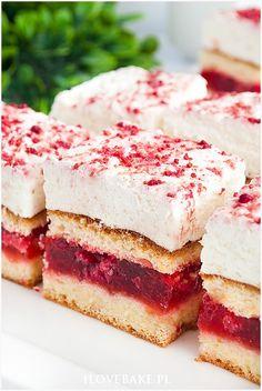 Food Cakes, Vanilla Cake, Cake Recipes, Sweet Tooth, Sandwiches, Cheesecake, Polish, Mini Desserts, Mascarpone