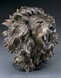 Dominance Bronze Lion Sculpture