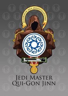 Aeternum Mea Investigatione - Jedi Master Qui-Gon Jinn