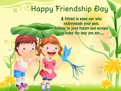 Friends are the most important ingredient in this recipe of life. Happy Friendship Day!