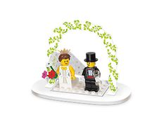 ...the idea, not necessarily these guys -- could we have an attractive lego lady bride? c'mon!