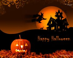 Halloween is celebrated on the last days of October every year. This PowerPoint presentation on the day you wish to prepare a special Halloween is really for you, this picture would be a great choice. Happy Halloween in advance!
