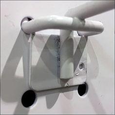 Perforated-Metal Pegboard Hook Retrofit Retail Fixtures, Store Fixtures, Metal Store, Metal Pegboard, Perforated Metal, Metal Baskets, Metal Stamping, Hooks, Color