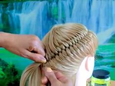 YouTube Little Girl Hairstyles, Braided Hairstyles, Natural Hair Styles, Short Hair Styles, Hair Due, Toddler Hair, Braids For Long Hair, Hair Today, Hair Designs
