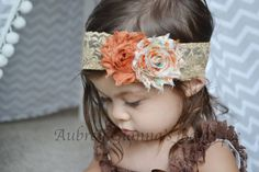 Hey, I found this really awesome Etsy listing at https://www.etsy.com/listing/202234284/baby-headband-boho-lace-fall-headband