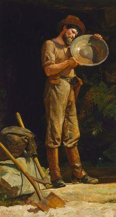 Julian Ashton -  The prospector (1889)
