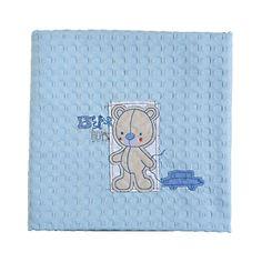 ΛΗΤΩ Βρεφικά Πολυκαταστήματα - Κουβέρτα πικέ Bear Boy