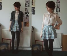all i need is a cute skirt & i can def put an outfit like this together for work ::nods::