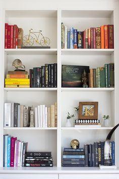 Top 5 Bookshelf Styling Tips