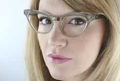 Vintage 50's Atomic Cat Eyeglasses Sunglass Frames
