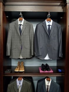 How every mans closet should look @youragent4life www.georgiarealtysource.com