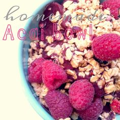 MyHeartistry: Homemade Acai Bowl Recipe