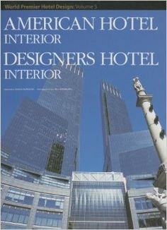 Volume five in the #WorldPremier #HotelDesign series, this book showcases world-class hotel interiors in the #USA and Asia, by the very best designers at work today.