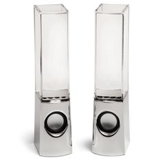 Water Fountain LED Speakers :) Cheap and awesome geeky gadgets I want some day!