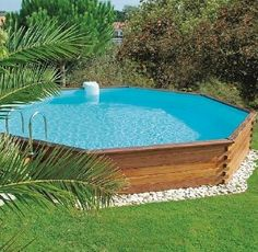 Small patio water feature natural 18 ideas for 2019 Pool Spa, Diy Swimming Pool, Diy Pool, Small Backyard Pools, Small Pools, Small Patio, Above Ground Pool Decks, Above Ground Swimming Pools, In Ground Pools