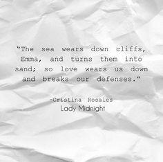 Cristina Rosales Lady Midnight quotes