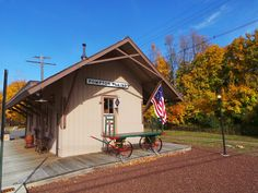 Pequannock Township Museum/Pompton Plains Train Station, Evans and Jackson Aves., Pompton Plains, NJ