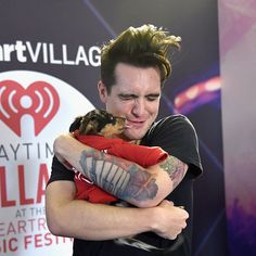 It's True, Brendon Urie Will Make You Pregnant Without Even Touching You<<<that explains why I had weird pangs in my stomach after the concert XD Emo Bands, Music Bands, Brendon Urie Memes, Avakin Life, Panic! At The Disco, Paramore, Fall Out Boy, Man Alive, My Favorite Music