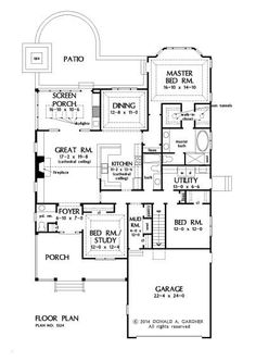The Darcy House Plan # W-PIN-1324