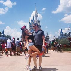 4th of July Disneyworld, Minnie Mouse Me, cute, love, couple, my baby, happy, Best day ever, Disney adventure @uliaali